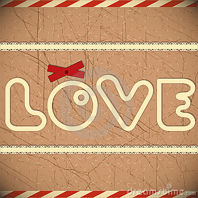 Love - card for Valentine s Day
