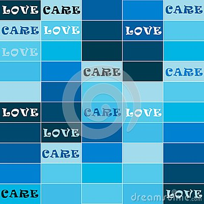 Love and care background