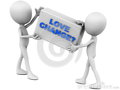 Love Change Stock Image - Image: 28526101