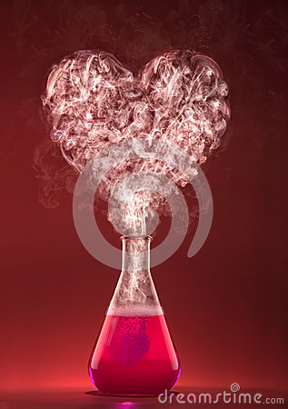 Free Love Chemistry Stock Images - 49011904