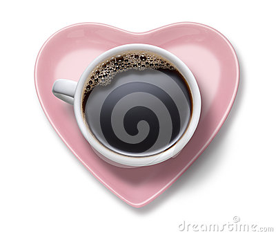 Love Coffee Cup Heart