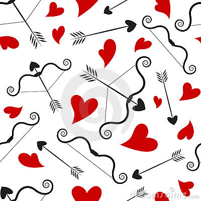 Love concept pattern