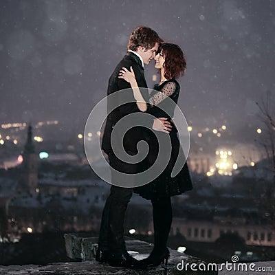 LOVE COUPLE on Valentine s Night