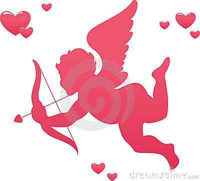 Free Love Cupid Royalty Free Stock Photos - 10258258