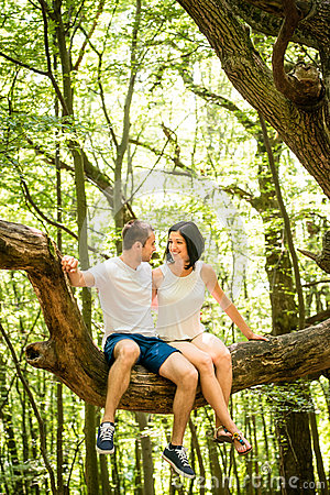 sitting on a tree dating