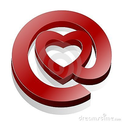 Free Love Email Heart @ Icon Stock Images - 13729344