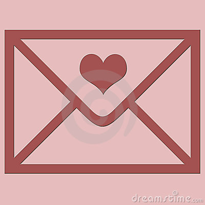 Love envelope.