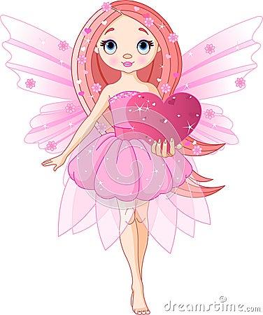 Free Love Fairy Stock Photography - 12687262