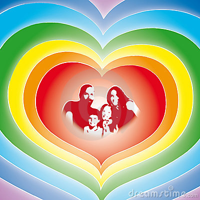 Free Love Family (vector) Royalty Free Stock Image - 6196466