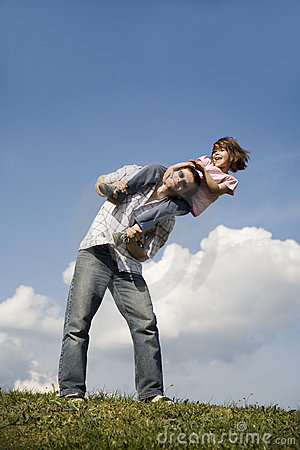 Love of father and child