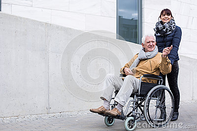 Love between father and daughter Stock Photo