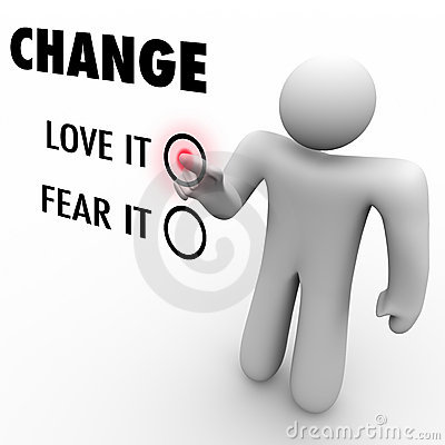 Love or Fear Change - Embrace Different Things