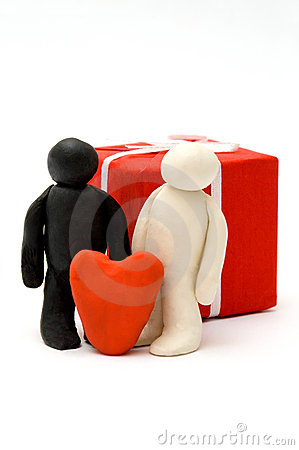 Love figure concept