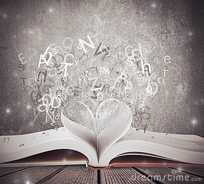 Free Love For Book Royalty Free Stock Image - 27529106