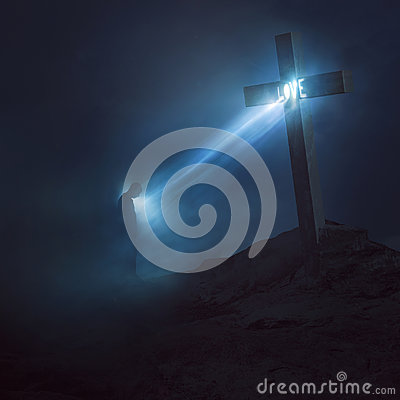 Free Love From The Cross Stock Photos - 96494443