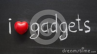 Love gadgets