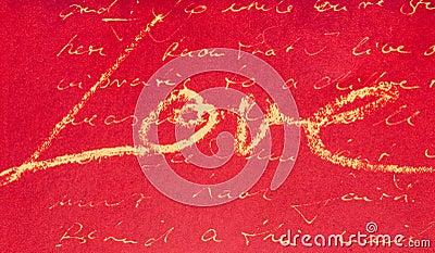 Love handwriting