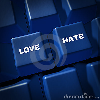 Love Hate Relationships Communication Impressions Royalty Free Stock Photos - Image: 17808418