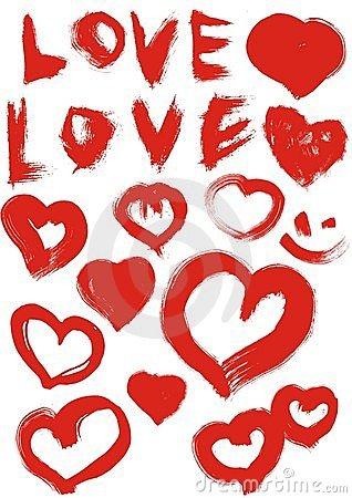 Love and heart
