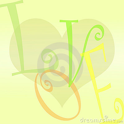 Love and heart background