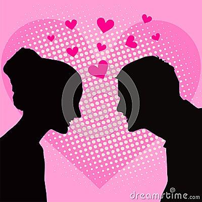 Love Heart card.