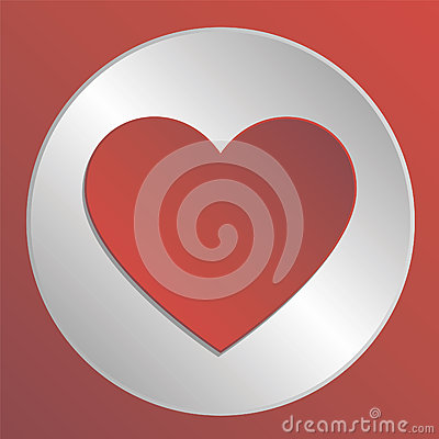 Free Love Heart Icon Stock Photo - 34214990