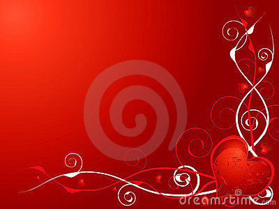 Love heart invite