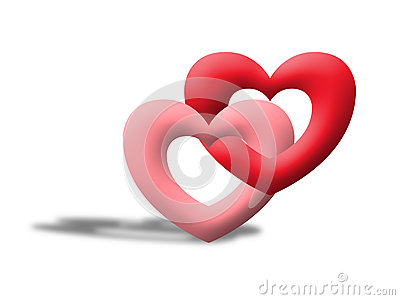Love heart like valentine illustrate image