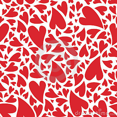 Free Love Heart Pattern Stock Photos - 12732693