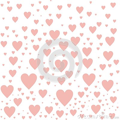 LOVE HEART PATTERN ABSTRACT BACKGROUND Stock Photo