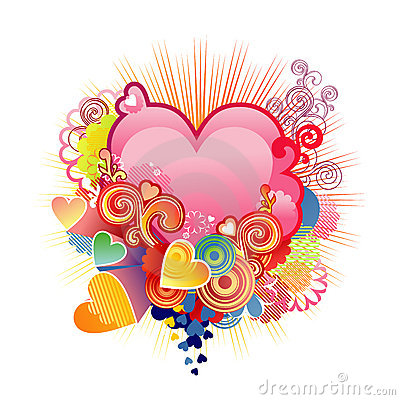 Free Love Heart / Valentine S Or Wedding / Vector Royalty Free Stock Photo - 4038265