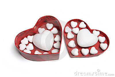 Love Hearts in Gift Box