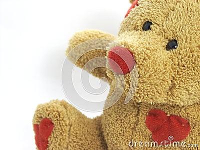 Love heat teddy bear