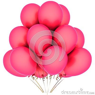 Love helium balloons