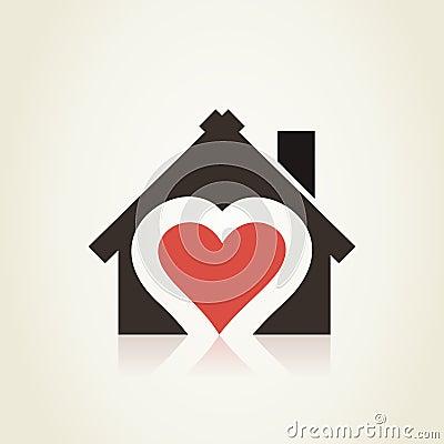 Free Love House3 Royalty Free Stock Photos - 47504908