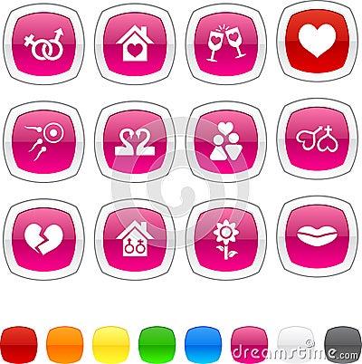 Love icons.
