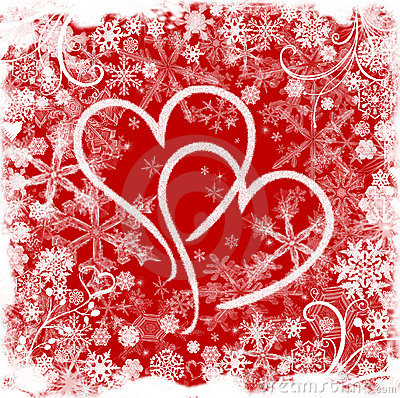 Free Love In Winter Royalty Free Stock Images - 3464289