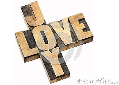 Love and joy crossword