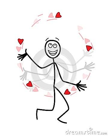 The love juggler