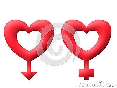 Love keys valentine illustration image