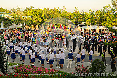 We Love the King parade, Thailand Editorial Photography