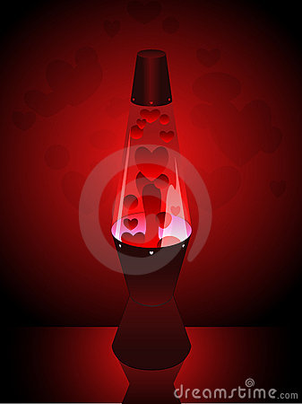 Love lava lamp