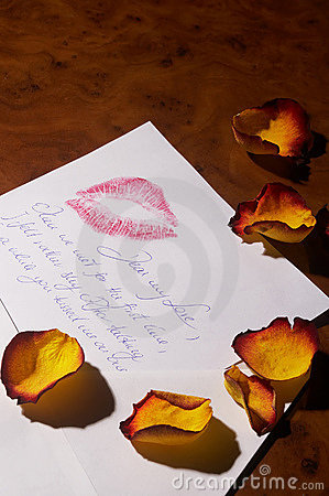 Free Love Letter - Liebesbrief Stock Photos - 472623