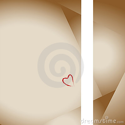 Free Love Lettter Stationery Heart Royalty Free Stock Images - 2055929