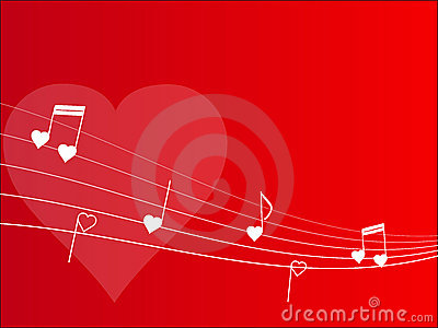 Love melody background