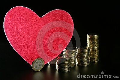 Love and money metaphor