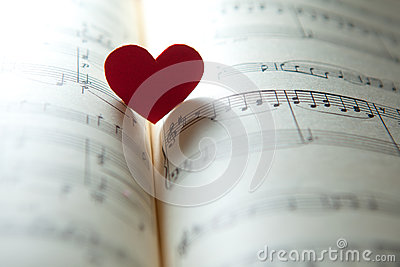 Love for music Stock Photo