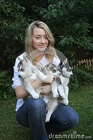Love my husky puppies