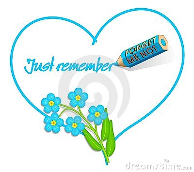 Love Note -  Forget-me-not