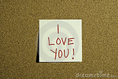 Love Note Post it